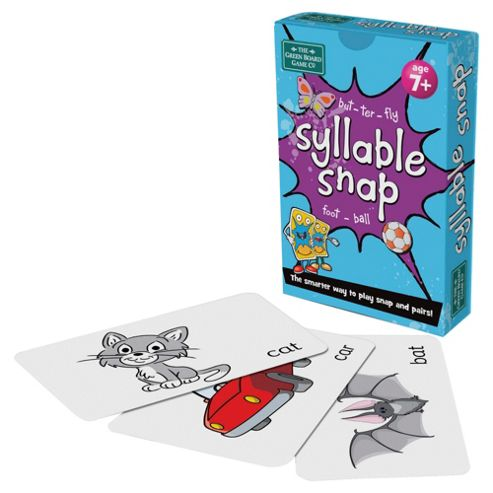 BrainBox Syllable Snap Card Game