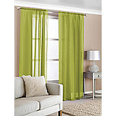 Slot Top Voile (Pair) - Green