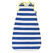 Grobag Baby Sleeping Bag - True Blue Stripes 1.0 Tog (0-6 Months)