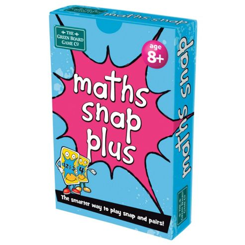 BrainBox Maths Snap Plus Green Board Games