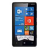 SIM Free Unlocked Nokia Lumia 820 Black