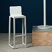 The Nordic Collection Kinnerton Lawrence Bar Stool - White
