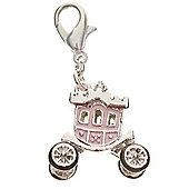 Princess Carriage Clip on Charm