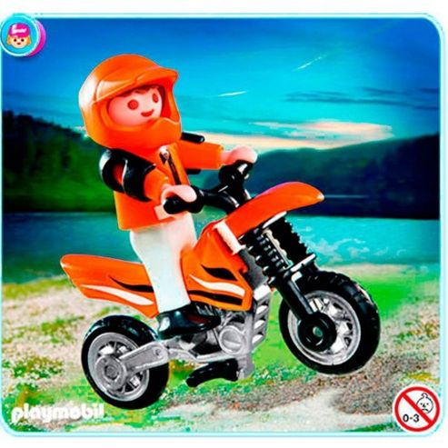 Playmobil 4698 Child with Dirt Bike