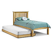 Hideaway Antique Finish 2 x Single Low Foot End Pine Bed