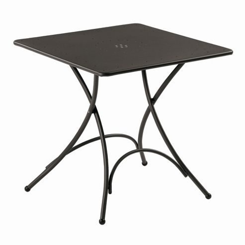emu Pigalle Folding Square Table - Indian Brown