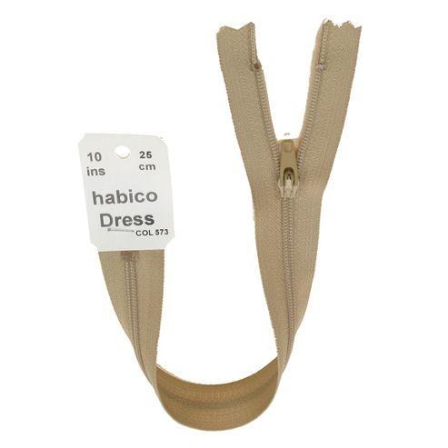 Dress Zip - 25cm - Beige