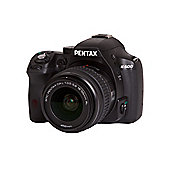 "Pentax K-500 SLR Camera, Black, 16MP, 3x Optical Zoom, 3"" LCD Screen"