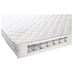 Mamas & Papas sprung cot bed mattress, 140x70cm
