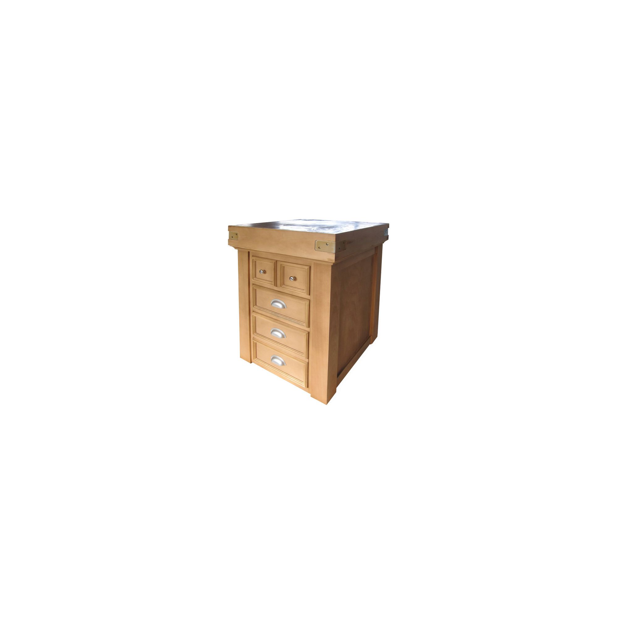 Chabret Traditional Drawers Block - 110cm X 80cm X 60cm at Tesco Direct