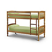 Lincoln Antique Pine 2FT6 Small Double Wooden Bed Frame