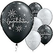 11' Congratulations Elegant (25pk)
