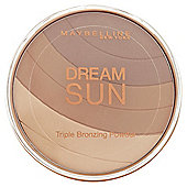 Maybelline Dream Sun Triple Bronzing Powder 02 Brunette