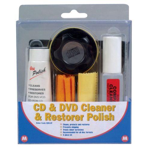 CD & DVD Cleaner & Restorer Polish