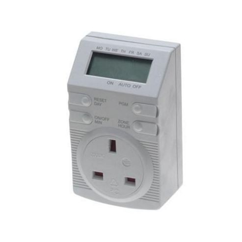 SMJ DT4B1C 24Hr Digital Plug In Timer