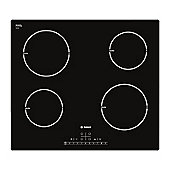 Bosch PIA611F68B 60cm Four Zone Induction Hob in Black