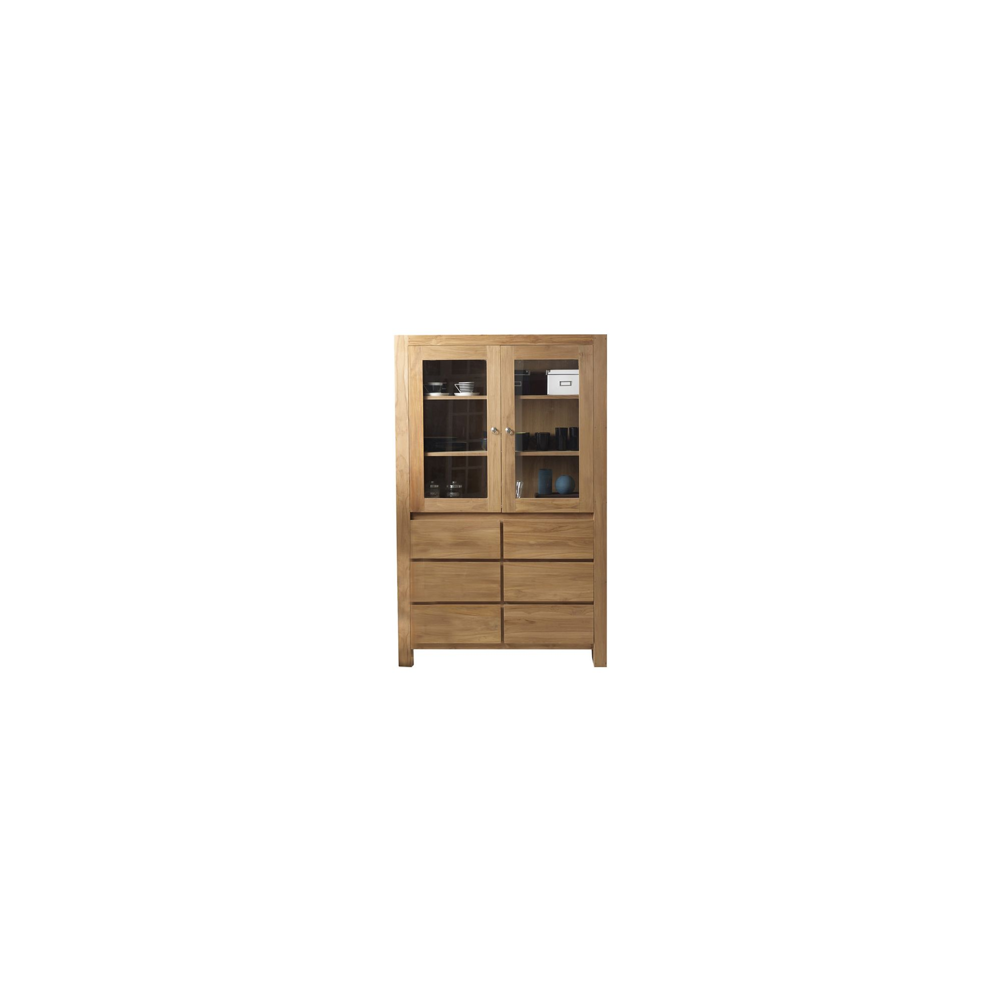 Tikamoon Eden Teak Display Cabinet at Tesco Direct