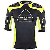 Kooga Rugby Senior IPS Pro V Shoulder Pads IRB Approved - Black