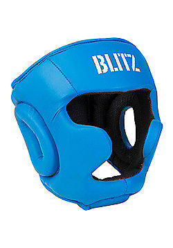 Blitz - Club Full Contact Head Guard - Blue