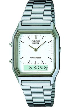 Casio AQ230A-7DMQ Mens Classic Combi Watch