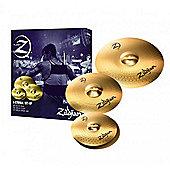 """Zildjian Planet Z Boxset - Pack Includes 14"""" Hi Hats, 16"""" Crash, 20"""" Ride"""