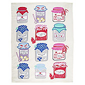 Tesco Jam Tea Towel, Single