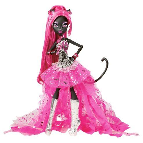 Monster High - Catty Noir Doll - Tesco Exclusive