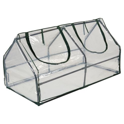 Tesco Cloche Greenhouse with Metal Frame and Plastic cover