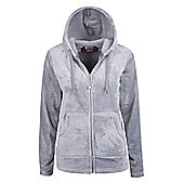Mountain Warehouse Snaggle Womens Hooded Fleece - Grey
