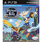 Phineas & Pherb Across The 2nd Dimension (PS3)