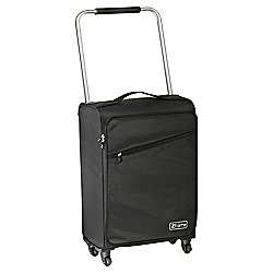 Z Frame Super-Lightweight 4-Wheel Suitcase, Black Medium