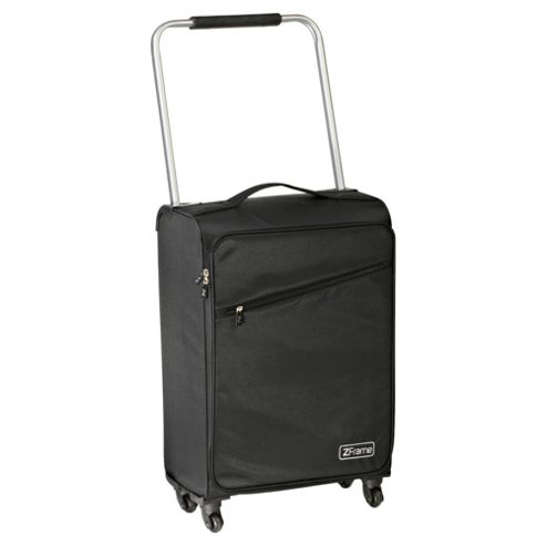 Z Frame 4-Wheel Super-Lightweight Suitcase, Black Medium