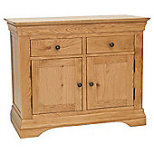 Normandy Oak 3ft Dresser Base