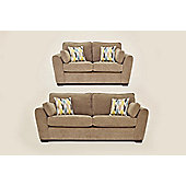 Sofia 3+2 Sofa Set Grey