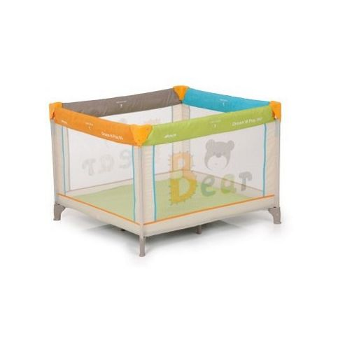 Hauck Dream n Play Square Bear Travel Cot