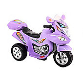 Childrens Trike 6v Ride On Toy, Purple