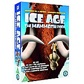 Ice Age 1-4 plus Mammoth Christmas: The Mammoth Collection (DVD Boxset)
