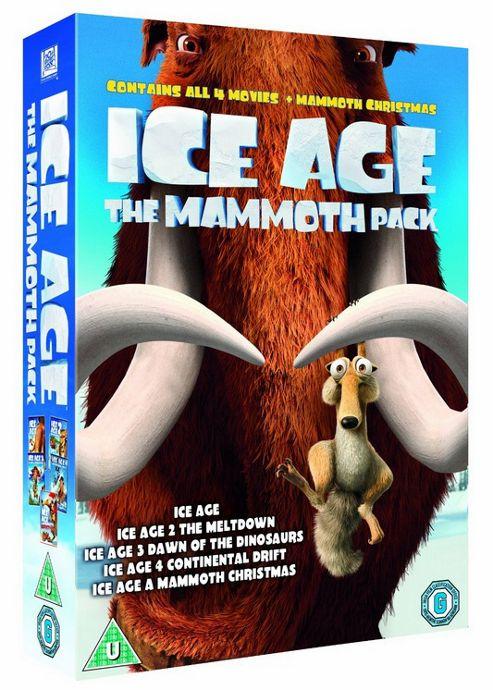 Ice Age 1-4 (DVD Boxset)