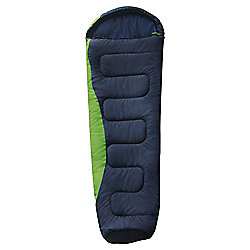 Tesco Mummy Sleeping Bag, Blue