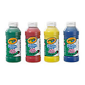 Crayola - 4 Pack Washable Ready Mix Paint