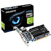 GIGA-BYTE VGA CARDS GF GV-N610D3-2GI GT610 2GB PCIE 2GB DDR3 810MHZ DVI HDMI VGA LP IN