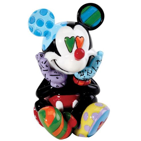 Enesco Disney Britto Mickey Mouse Mini Figurine