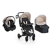 Disney Miami 4 Trio Set Travel System - Mickey Charcoal - inc Raincover
