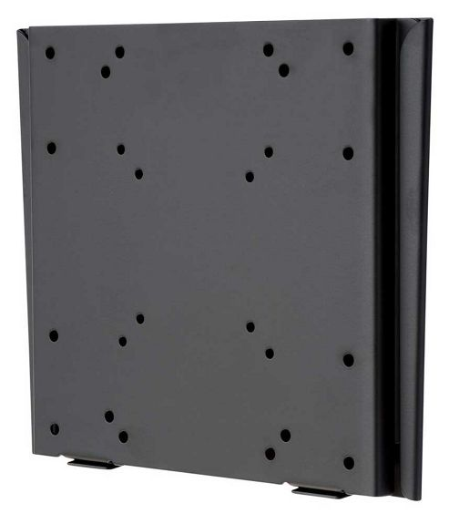Black Flat Fixed LCD Wall Mount Plate 15 inch - 40 inch TV s