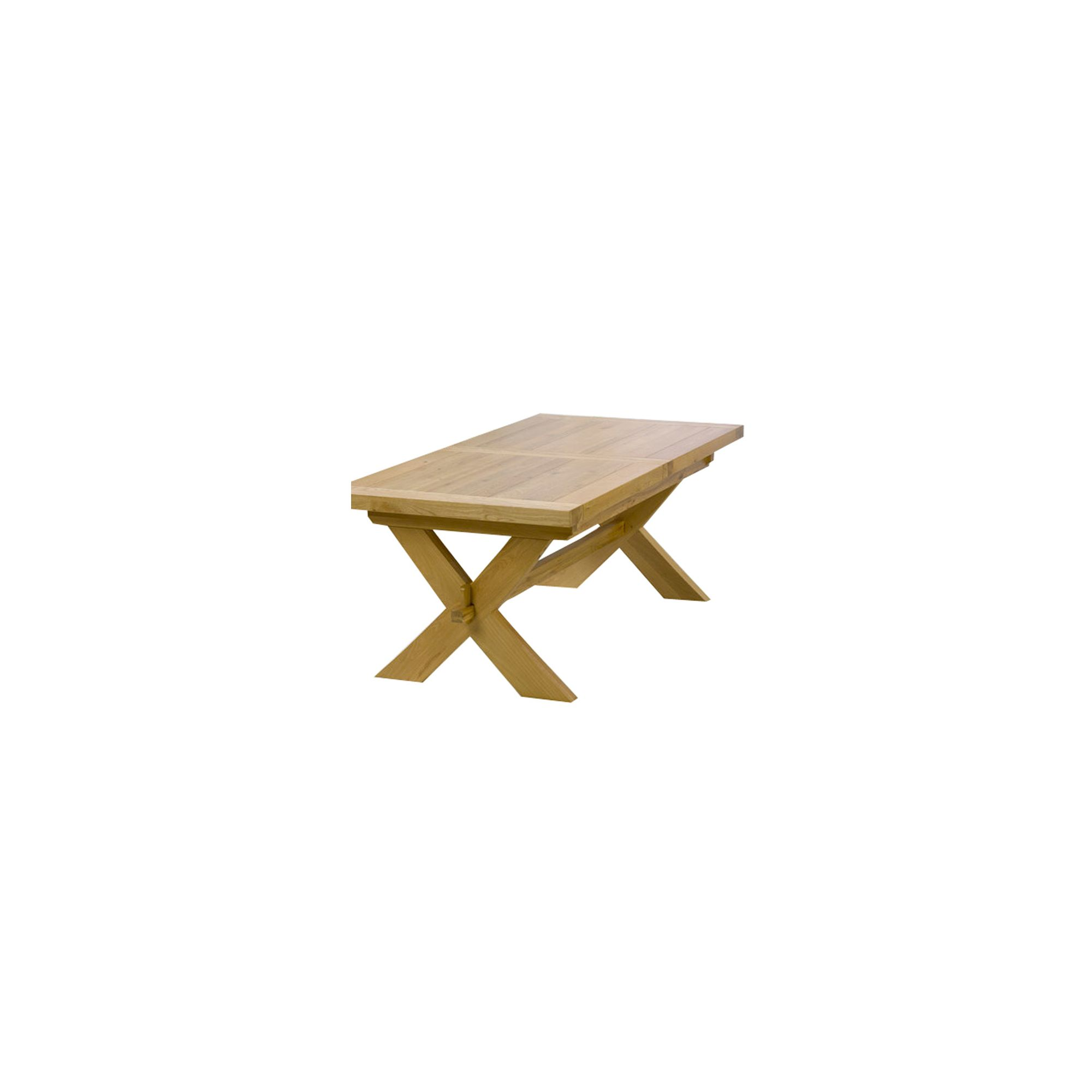 Mark Harris Furniture Avignon Solid Oak Extending Dining Table - 160 cm
