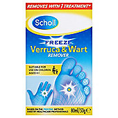 Scholl Freeze Wart & Verruca Freeze Treatment 80Ml