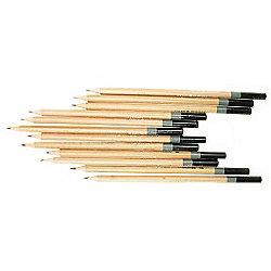 Daler Simply Sketching Pencils - 12 Assorted Graphite Pencils