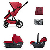 Concord Wanderer Travel Set (Ruby Red)