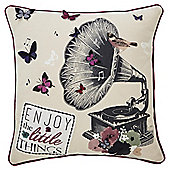 """Enjoy the Little Things"" Cushion"