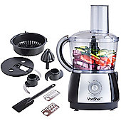 VonShef Food Processor, Black